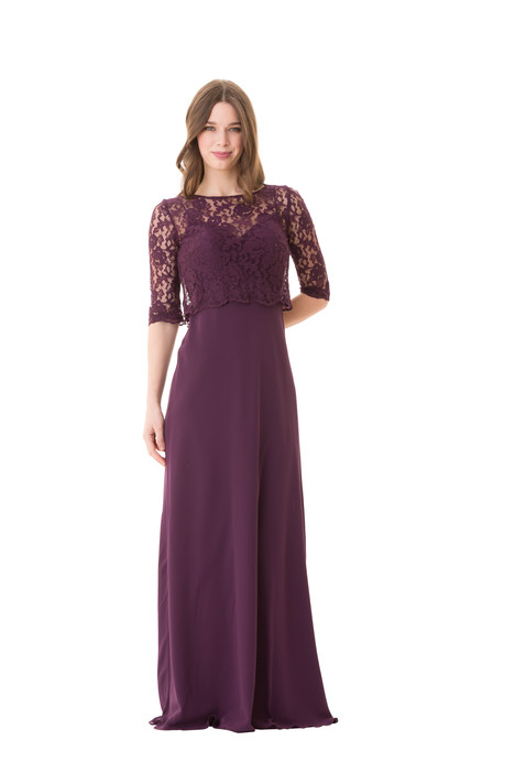 1675 gown from the 2016 Bari Jay Bridesmaids collection, as seen on Bride.Canada