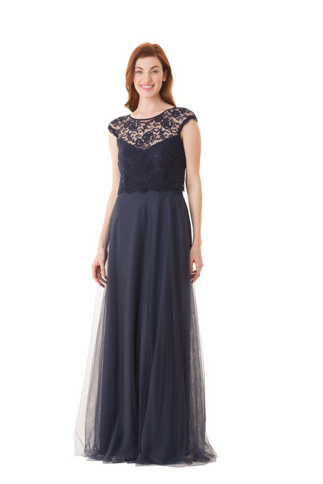 1676 gown from the 2016 Bari Jay Bridesmaids collection, as seen on Bride.Canada