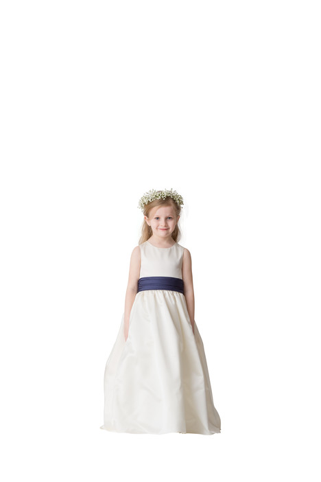 F5216 gown from the 2016 Bari Jay: Flower Girls collection, as seen on Bride.Canada
