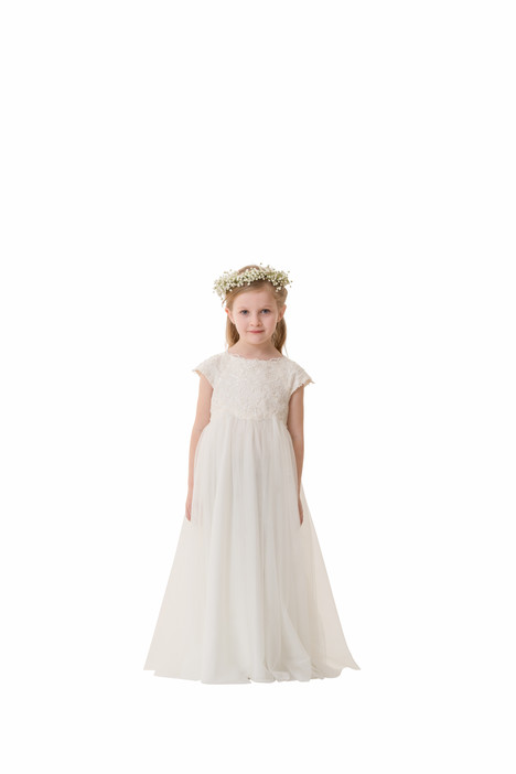 F5316 gown from the 2016 Bari Jay: Flower Girls collection, as seen on Bride.Canada