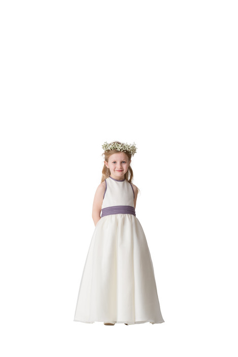 F5416 gown from the 2016 Bari Jay: Flower Girls collection, as seen on Bride.Canada