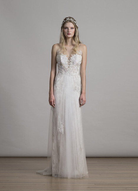 6866 gown from the 2017 Liancarlo collection, as seen on Bride.Canada