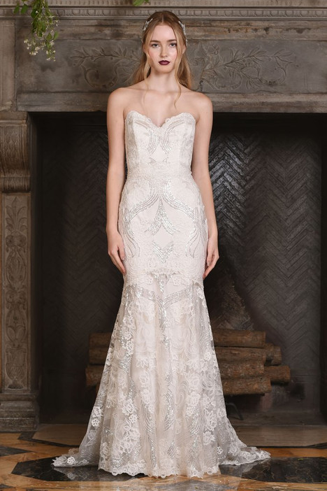 Celeste gown from the 2017 Claire Pettibone: Couture collection, as seen on Bride.Canada