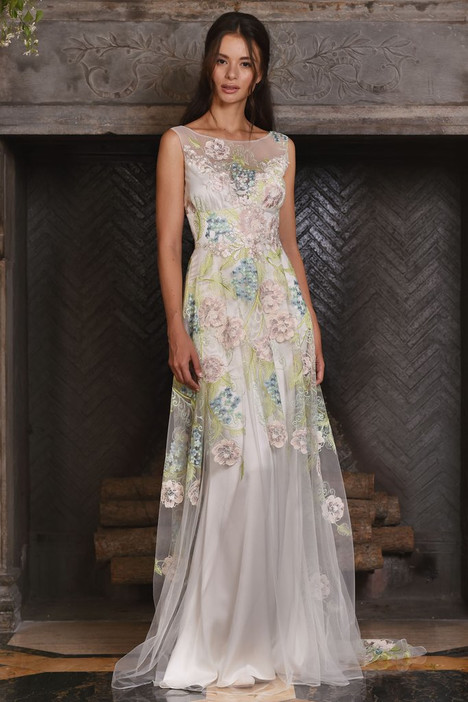 Maia gown from the 2017 Claire Pettibone: Couture collection, as seen on Bride.Canada