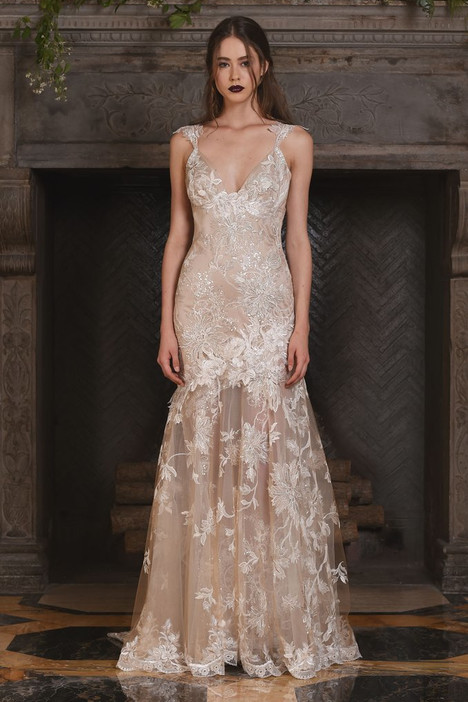 Noel gown from the 2017 Claire Pettibone: Couture collection, as seen on Bride.Canada