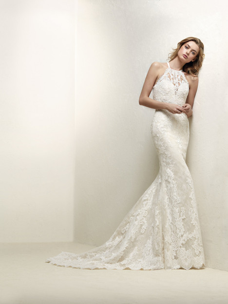 Drabat gown from the 2018 Pronovias collection, as seen on Bride.Canada