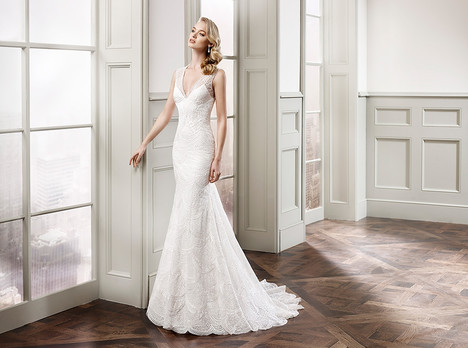 gown from the 2015 Eddy K Milano collection, as seen on Bride.Canada