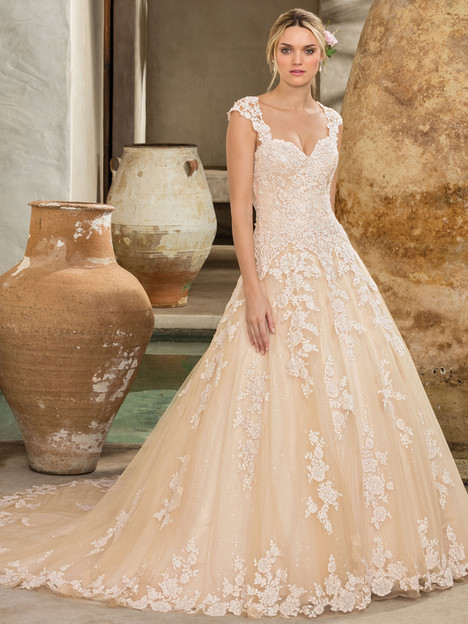 Amber (2289) (2) gown from the 2017 Casablanca Bridal collection, as seen on Bride.Canada