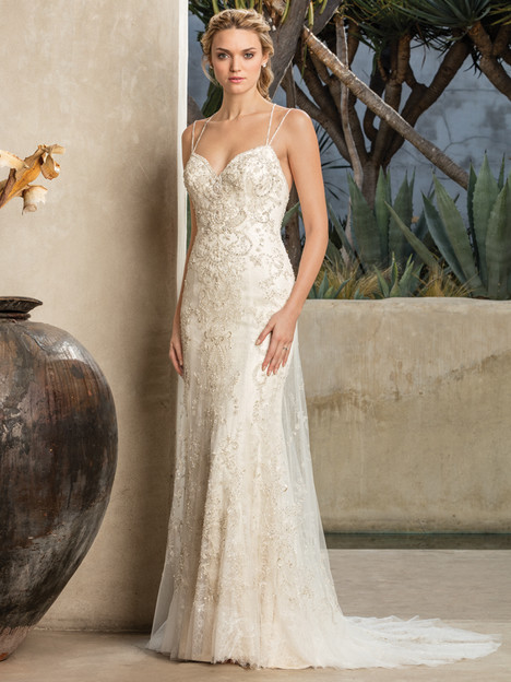 Jade (2295) gown from the 2017 Casablanca Bridal collection, as seen on Bride.Canada