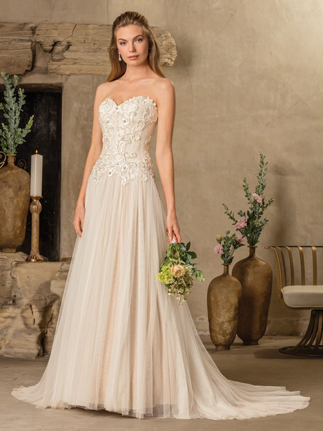 Tierra (2297) gown from the 2017 Casablanca Bridal collection, as seen on Bride.Canada