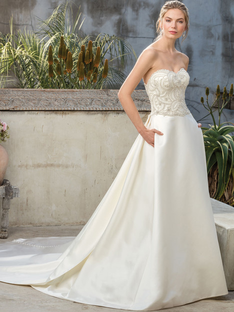 Sequoia (2299) gown from the 2017 Casablanca Bridal collection, as seen on Bride.Canada