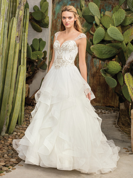 Paloma (2308) gown from the 2017 Casablanca Bridal collection, as seen on Bride.Canada