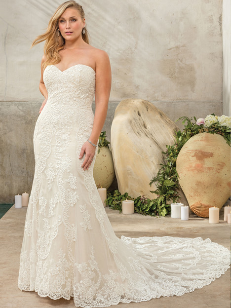 Sedona (2292) (Classic Fit) gown from the 2017 Casablanca Bridal collection, as seen on Bride.Canada