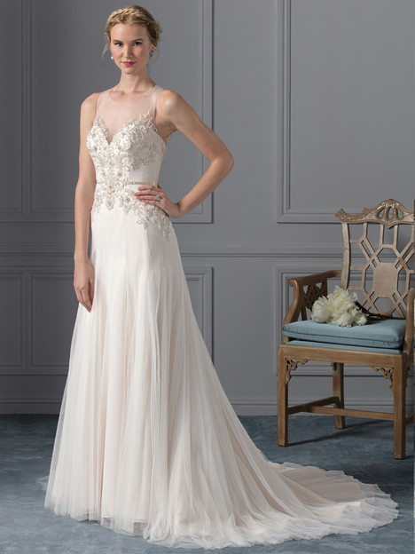 Celeste (BL237) gown from the 2017 Beloved By Casablanca collection, as seen on Bride.Canada