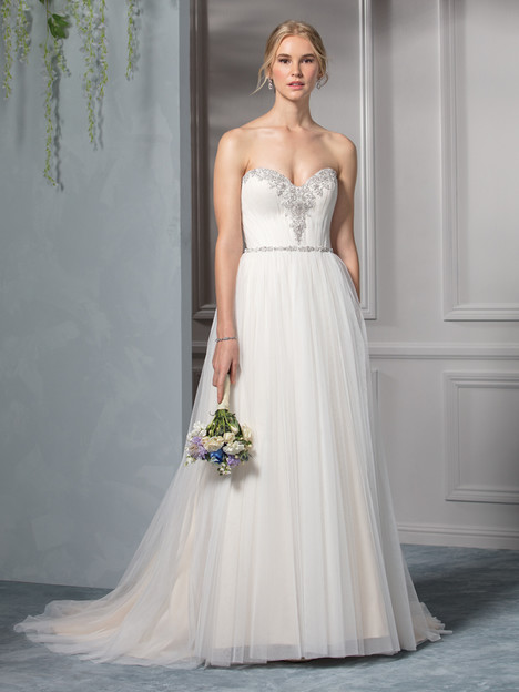 Sky (BL238) gown from the 2017 Beloved By Casablanca collection, as seen on Bride.Canada