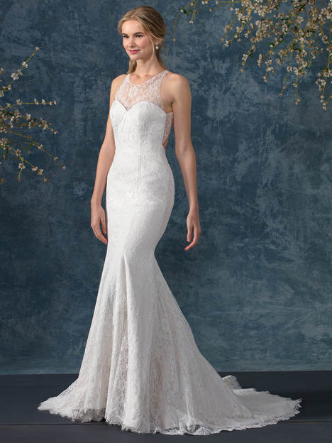 Cerulan (BL246) gown from the 2017 Beloved By Casablanca collection, as seen on Bride.Canada