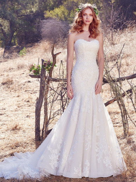 Aretha gown from the 2017 Maggie Sottero collection, as seen on Bride.Canada