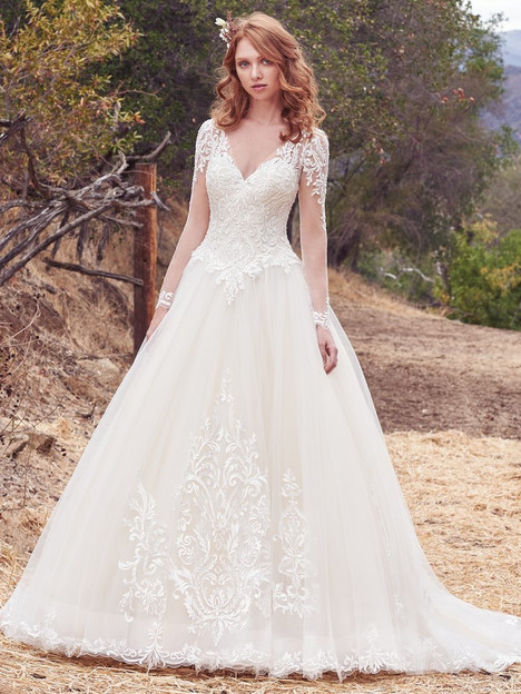 Berkley (7MS612) gown from the 2017 Maggie Sottero collection, as seen on Bride.Canada