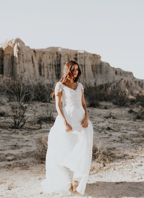 Anna gown from the 2017 Anna Campbell collection, as seen on Bride.Canada