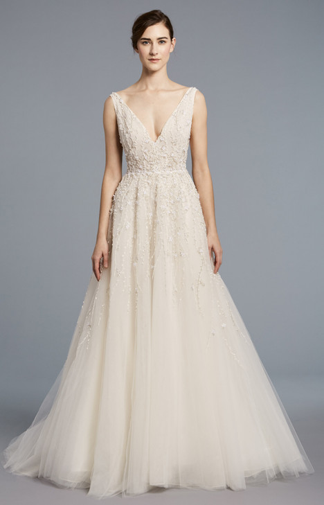 Francoise gown from the 2018 Anne Barge collection, as seen on Bride.Canada