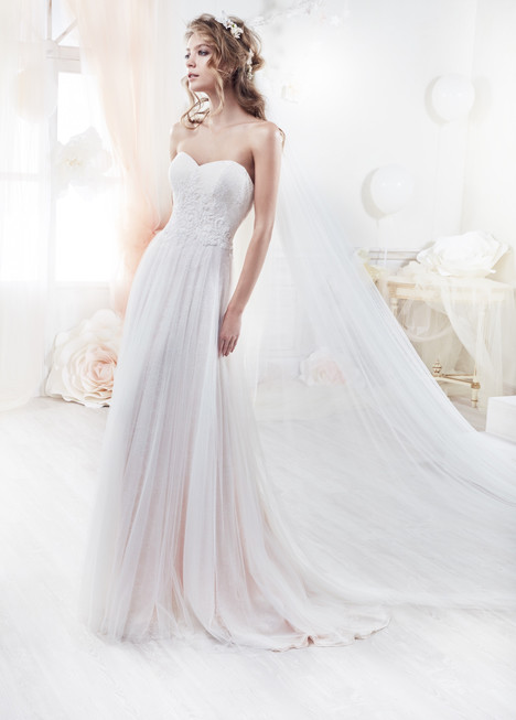 COAB18208 gown from the 2018 Colet collection, as seen on Bride.Canada