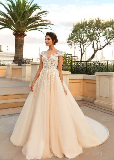 Atico gown from the 2017 Crystal Design collection, as seen on Bride.Canada