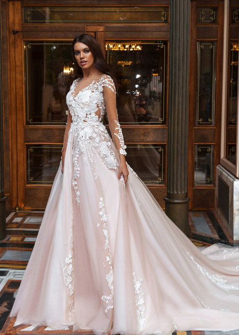 Aniya gown from the 2017 Crystal Design collection, as seen on Bride.Canada
