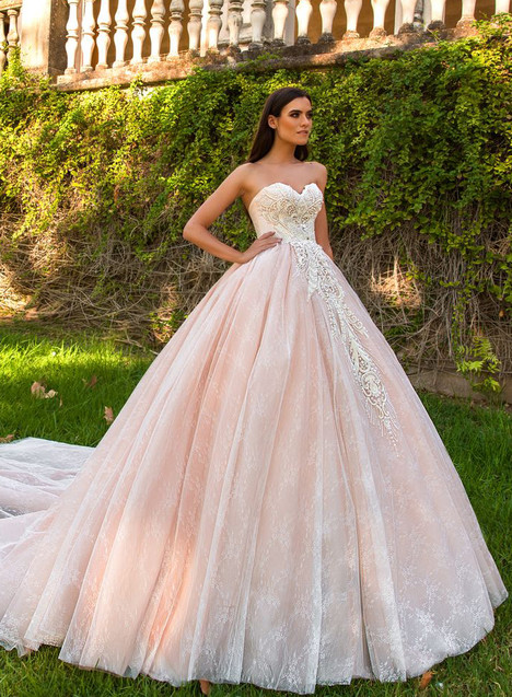 Marvella gown from the 2017 Crystal Sevilia collection, as seen on Bride.Canada