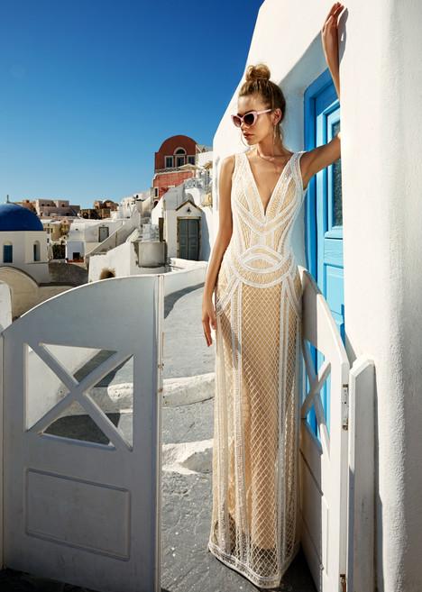 Antonia gown from the 2017 Eva Lendel Santorini collection, as seen on Bride.Canada