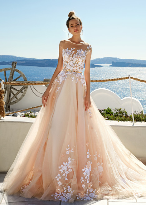 Kate gown from the 2017 Eva Lendel Santorini collection, as seen on Bride.Canada