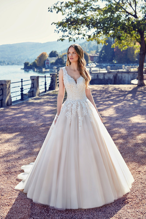 gown from the 2018 Eddy K collection, as seen on Bride.Canada