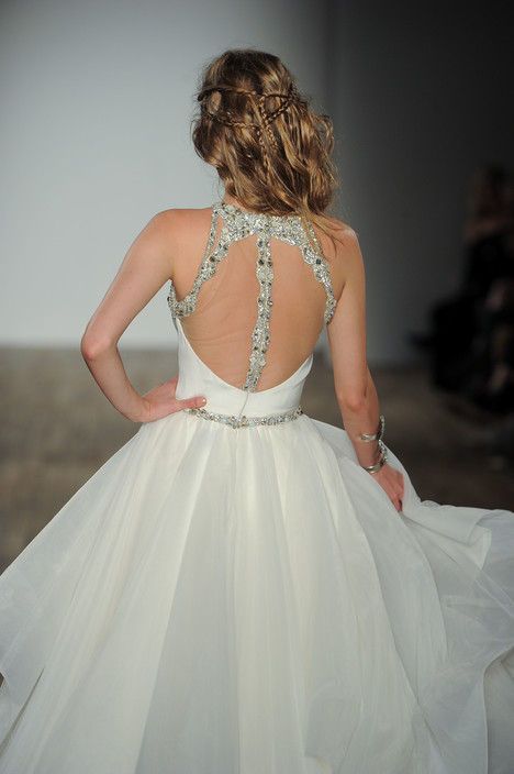 Sloane (back) gown from the 2017 Hayley Paige collection, as seen on Bride.Canada