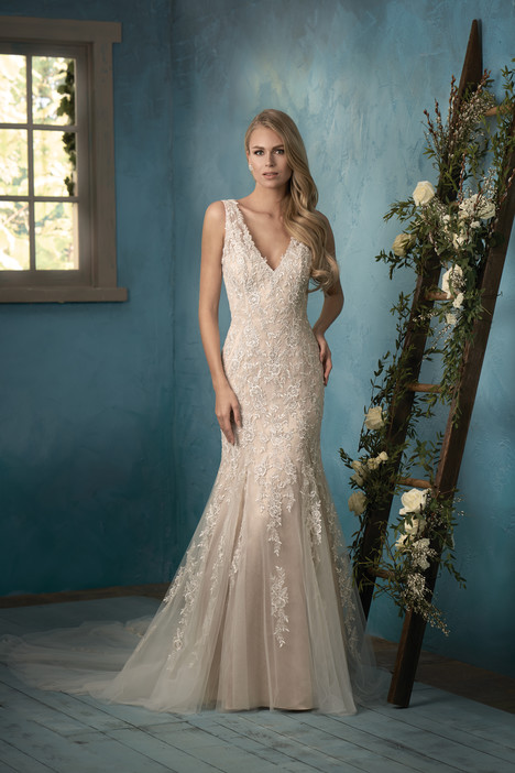 F191052 gown from the 2017 Jasmine Collection collection, as seen on Bride.Canada