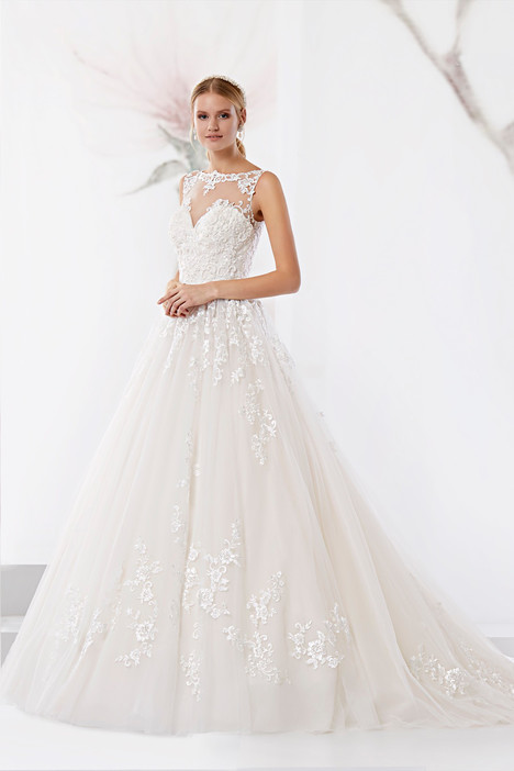 JOAB18443 gown from the 2018 Jolies collection, as seen on Bride.Canada