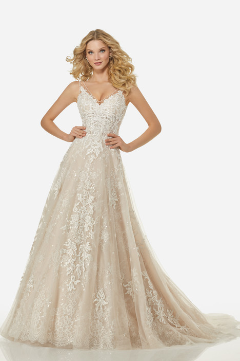 Alicia (3410) gown from the 2018 Randy Fenoli Bridal collection, as seen on Bride.Canada