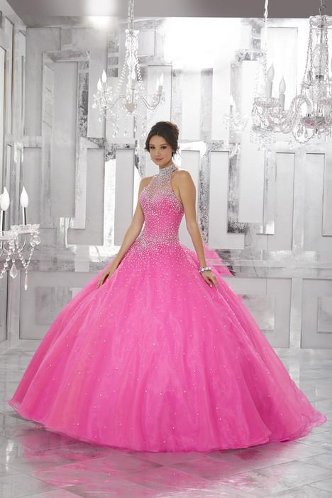 60021 hot pink by mori lee valencia wedding for Mori lee pink wedding dress