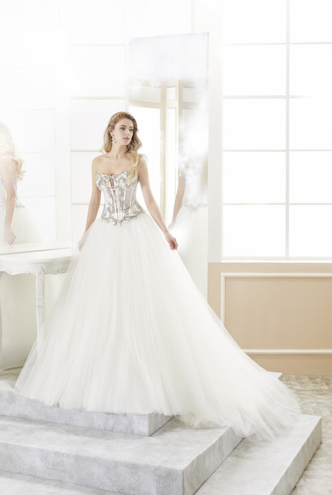 ROAB18826 gown from the 2018 Romance collection, as seen on Bride.Canada