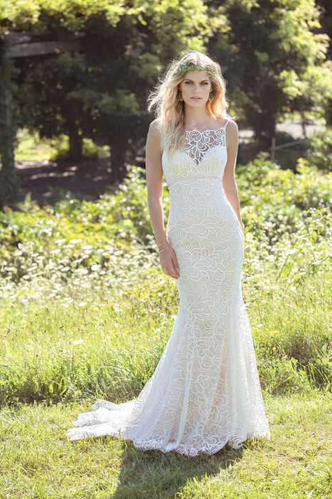 gown from the 2017 Lillian West collection, as seen on Bride.Canada