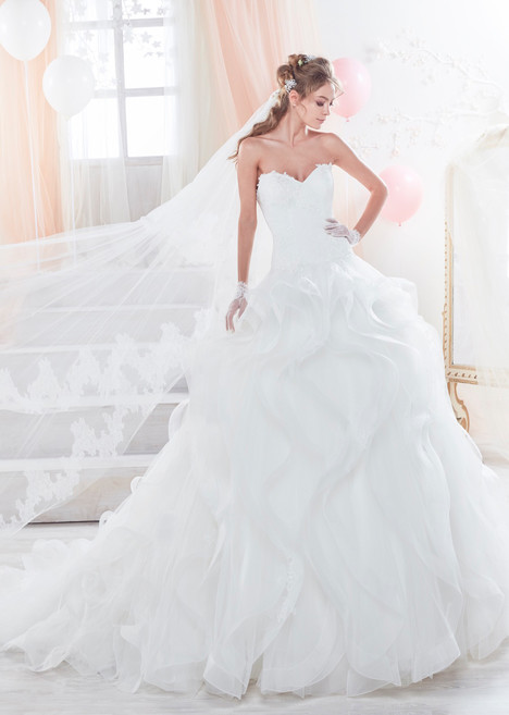 COAB18281 gown from the 2018 Colet collection, as seen on Bride.Canada