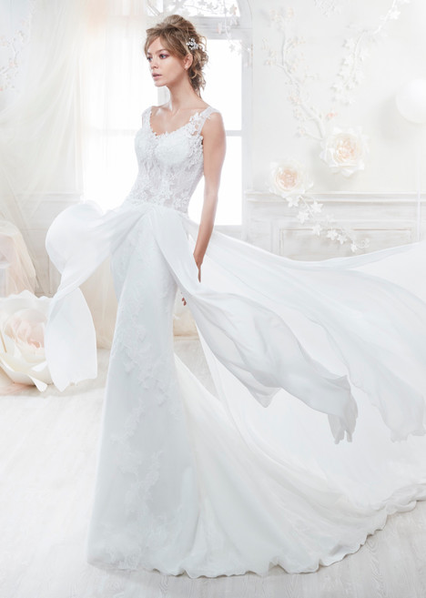 COAB18284 gown from the 2018 Colet collection, as seen on Bride.Canada