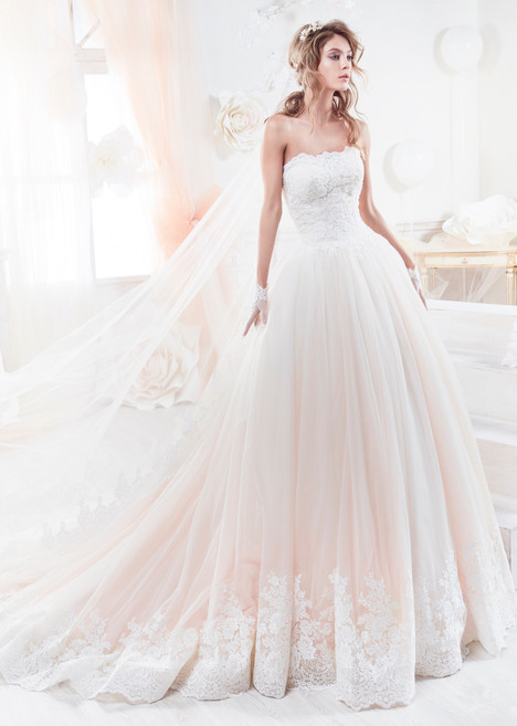 COAB18300 gown from the 2018 Colet collection, as seen on Bride.Canada