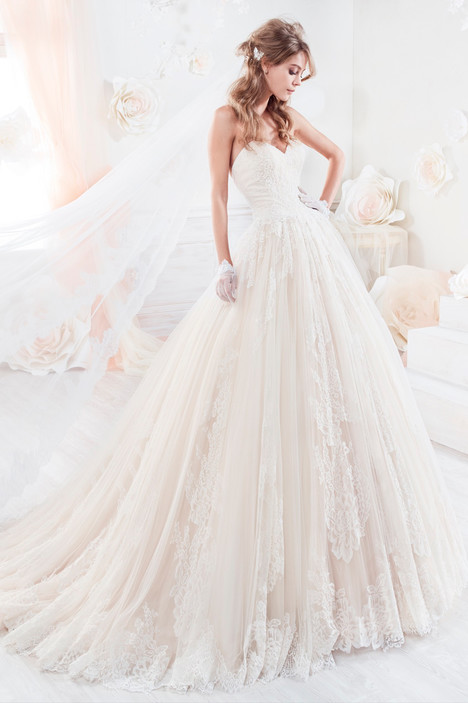COAB18317 gown from the 2018 Colet collection, as seen on Bride.Canada
