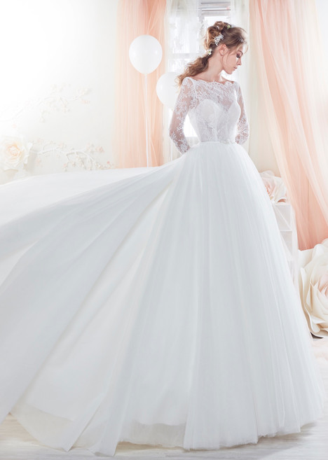 COAB18323 gown from the 2018 Colet collection, as seen on Bride.Canada
