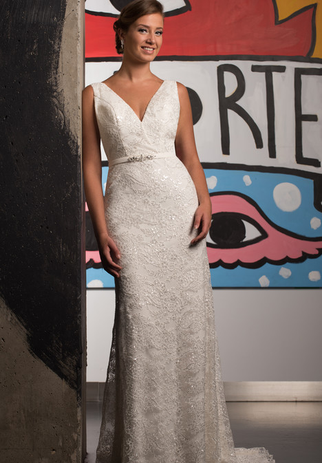 GP1089 gown from the 2017 Grace by Bridalane collection, as seen on Bride.Canada