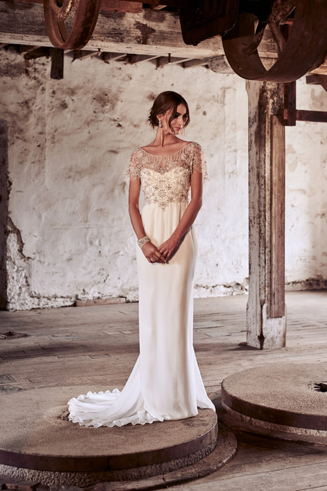 Adele gown from the 2018 Anna Campbell collection, as seen on Bride.Canada