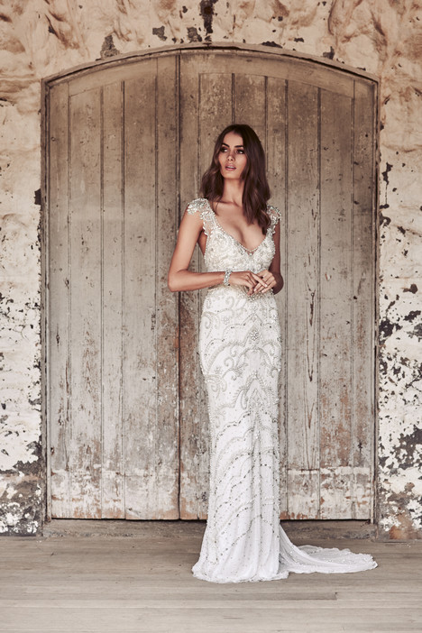 Raine gown from the 2018 Anna Campbell collection, as seen on Bride.Canada