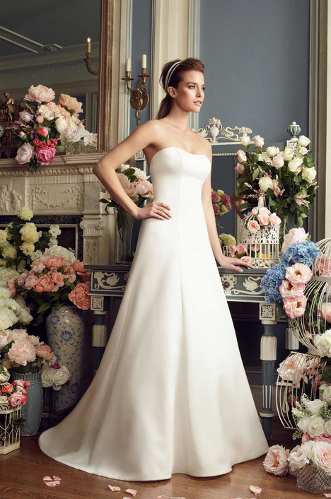 2166 gown from the 2017 Mikaella collection, as seen on Bride.Canada