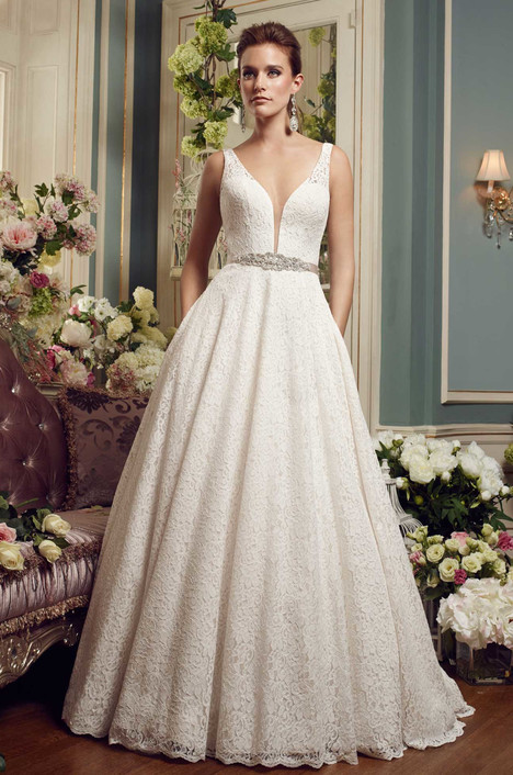 2167 gown from the 2017 Mikaella collection, as seen on Bride.Canada