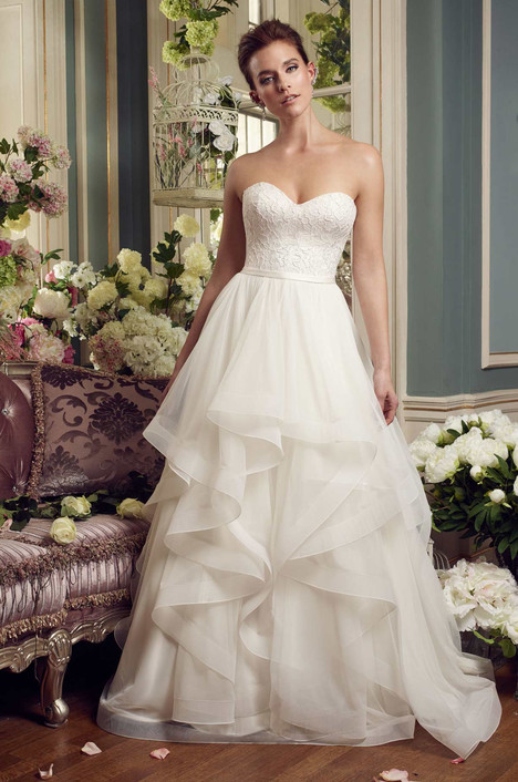 2168 gown from the 2017 Mikaella collection, as seen on Bride.Canada