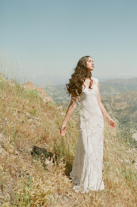 Calistoga gown from the 2017 Claire Pettibone: Romantique collection, as seen on Bride.Canada